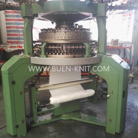 Máquinas circulares de costilla transferida malla jacquard