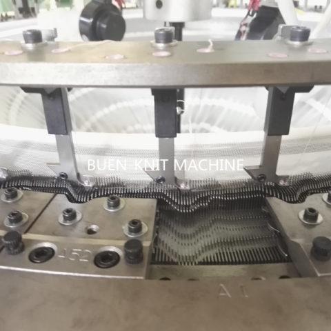 Máquinas circulares de terry toalla con lazos de doble cara