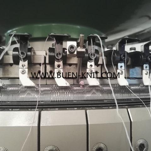 Máquinas circulares para funda de colchón jacquard electrónico