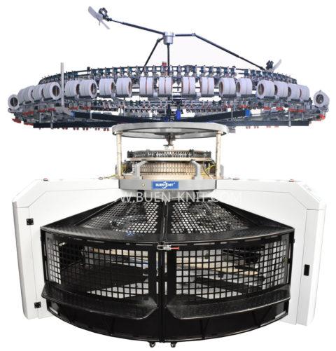 maquinas circulares jersera con tejido abierto
