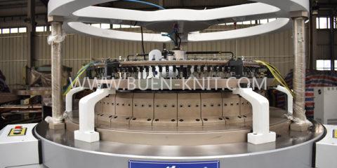 Maquinas de tejido de punto tubular franela 3 hilos